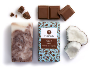 coco chocolate soap - recommended manna