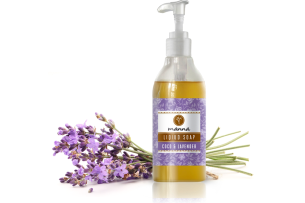 coco lavender liquid soap - recommended manna