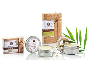 gentle care package for eczema-affected skin - recommended manna