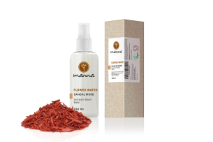 manna flower water sandalwood - recommended manna