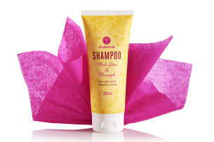 natural shampoo for dry, normal hair - recommended manna
