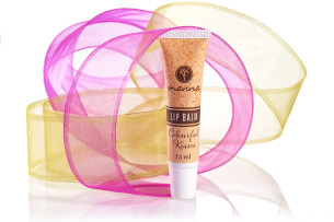 natural tinted lip balm – in a practical tube - recommended manna
