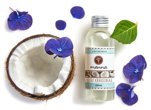 organic virgin coco oil - recommended manna