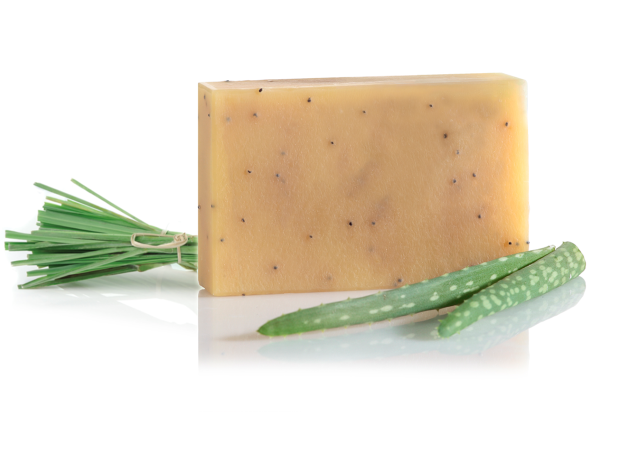 aloe vera & lemongrass soap