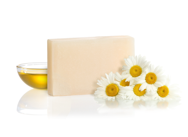 chamomile flower soap