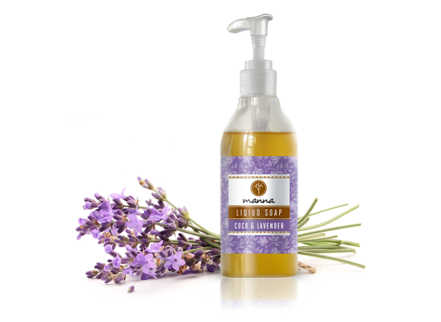 coco & lavender liquid soap