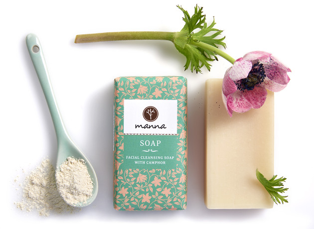 facial cleansing soap with camphor