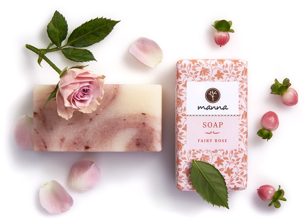 fairy rose soap