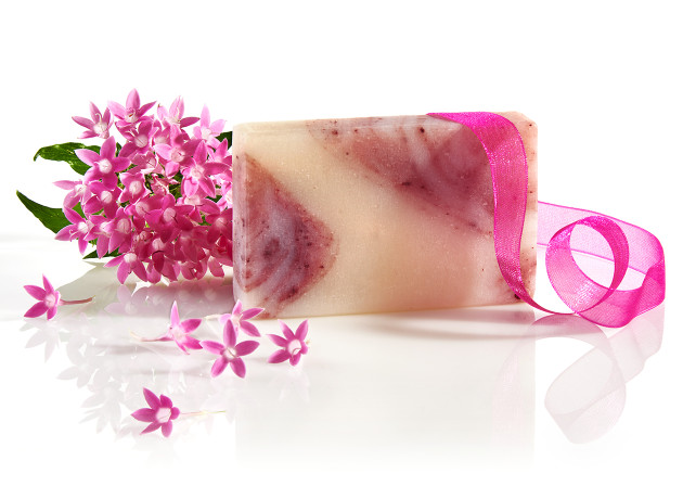 fairy rose soap