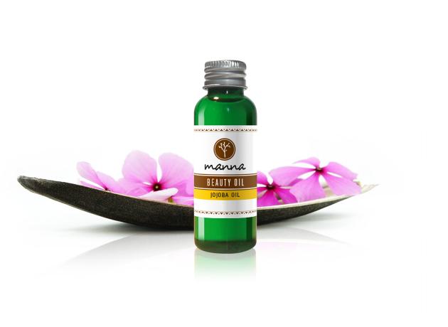 manna jojoba beauty oil