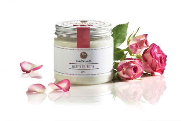 whipped shea body butter rose