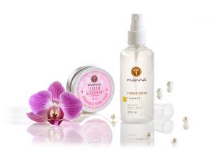 krémové deodoranty a kvetinové vody