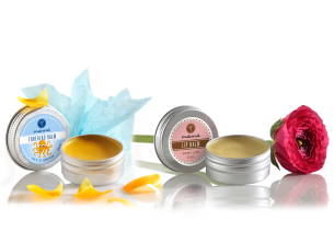 lip- and temple balms